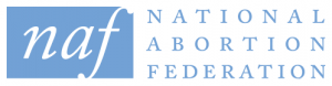 The logo for the National Abortion Federation